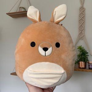 "11"" Keely the kangaroo Squishmallow BNWT"